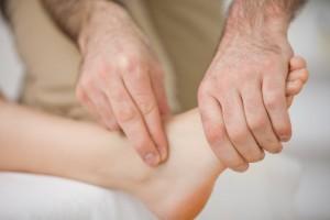 Le traitement de l'entorse de la cheville en ostéopathie